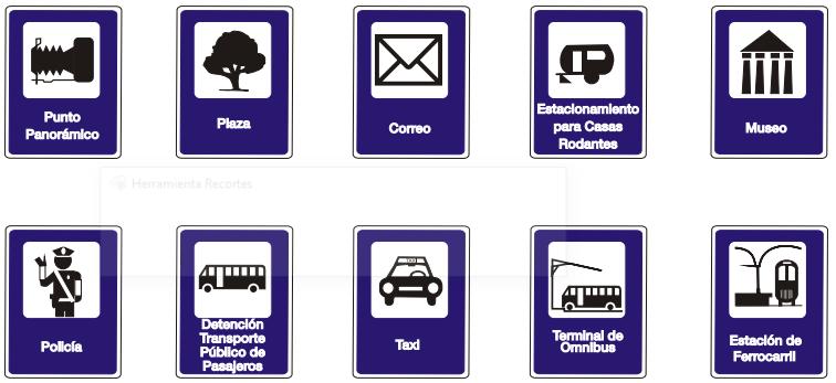 Información turísticas y de servicios