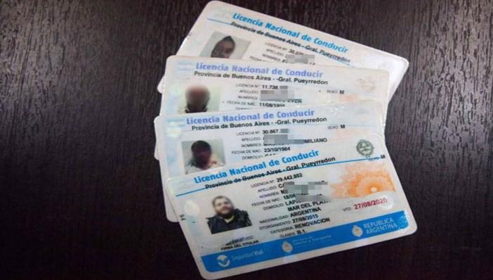 Consulta de licencia de conducir por DNI