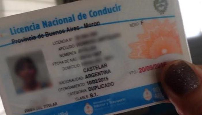 Requisitos especiales para la duplicación de la licencia de conducir