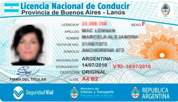 libretas de licencia de conducir