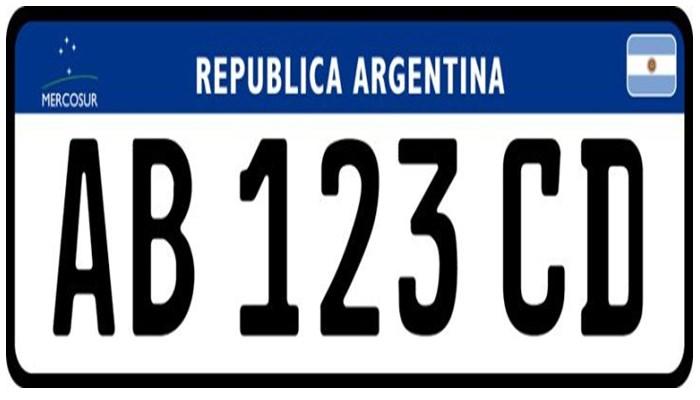 La radicación de la patente argentina